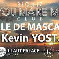 Kevin Yost  Baile de Mascaras By You MAKE ME Club. Llaut palace