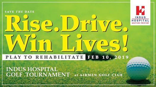 Indus Hospital Golf Tournament 2019  Karachi