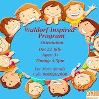 Waldorf Inspired Program Orientation
