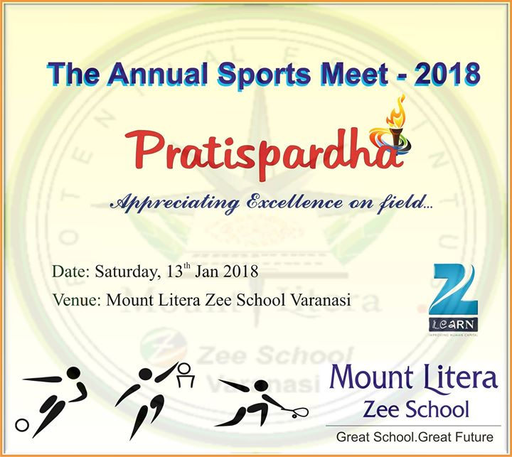 Pratispardha The Annual Sports Meet 2018 At Mount Litera Zee School