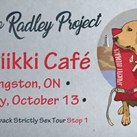 The Boo Radley Project in Kingston ON Musiikii Cafe