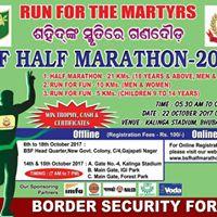 BSF HALF MARATHON-2017 ..... RUN FOR MARTYRS