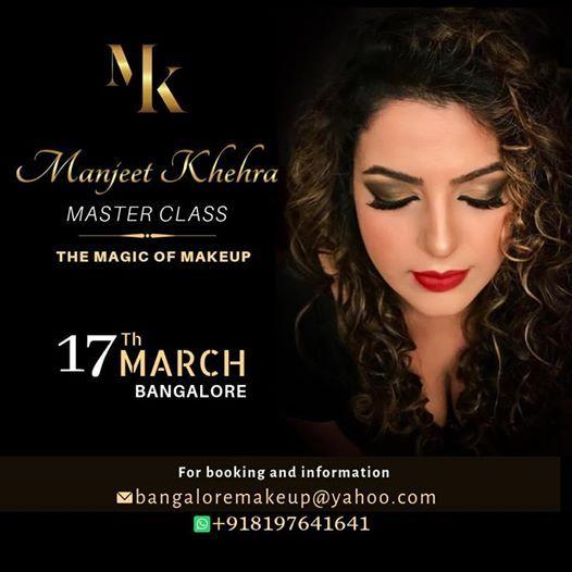 Makeup Masterclass by Manjeet Khehra