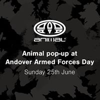 Animal pop-up at Andover Armed Forces Day