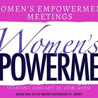 Womens Empowerment Meeting Kickoff Happy New Year