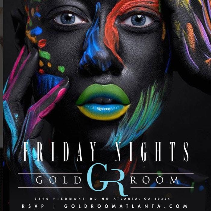 GOLD ROOM FRIDAYS  HIPHOPATLS 1 FRIDAY PARTY