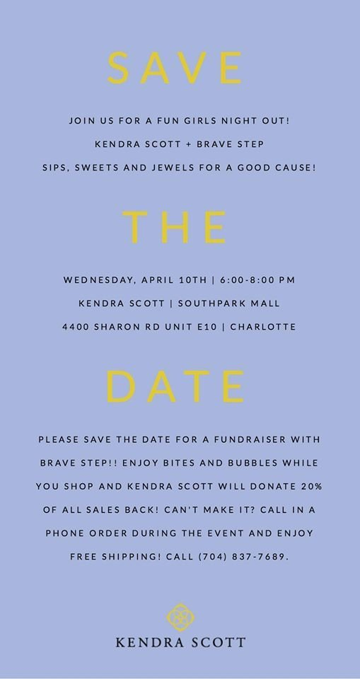 Brave Step GNO with Kendra Scott