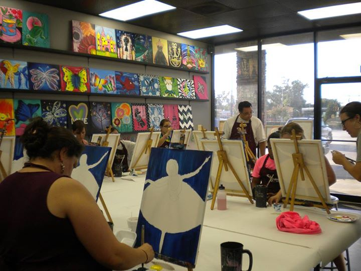 Paint a nutcracker with smb at painting with a twist for Painting with a twist arizona