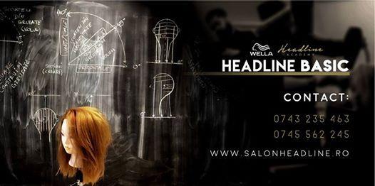 CURS Formare Coafor - Stilist la Headline Basic