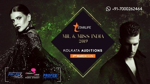 Mr. & Miss India 2019 Kolkata Auditions
