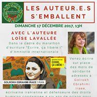 Les auteur.e.s semballent chez Bouquinart avec Lose Lavalle