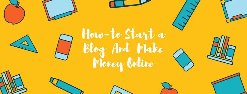How To Start a Blog And Make Money Online - Webinar - Chennai