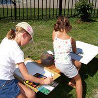 Plein Air Painting  Ages 7-10