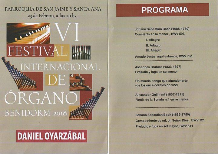 Concierto Daniel Oyarzabal