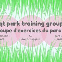 QT park training  groupe dexercise du parc QT