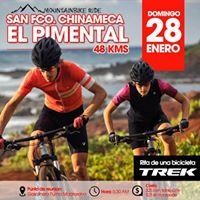 MTB RIDE San Francisco Chinemeca - El Pimental