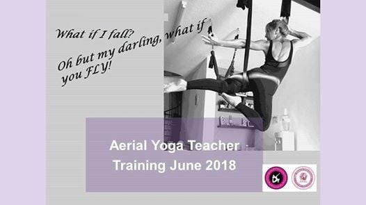 Aerial Yoga Teacher Training June 2018