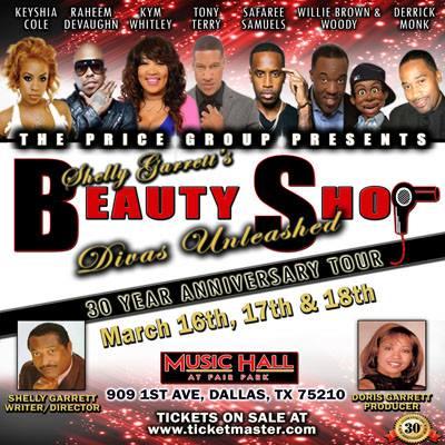 Shelly Garretts Beauty Shop Dallas TX. (Three Shows)