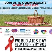 Community Picnic  World AIDS Day Wollongong