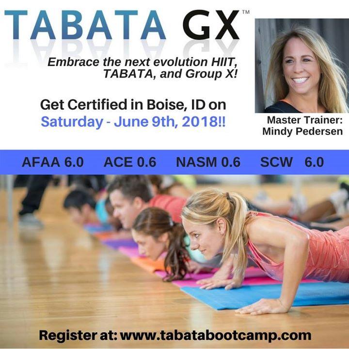 Tabata Training New Classes At 28th Boise