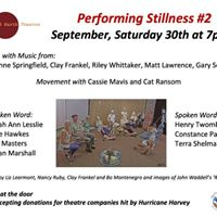 Sustaining Stillness - in words music and dance