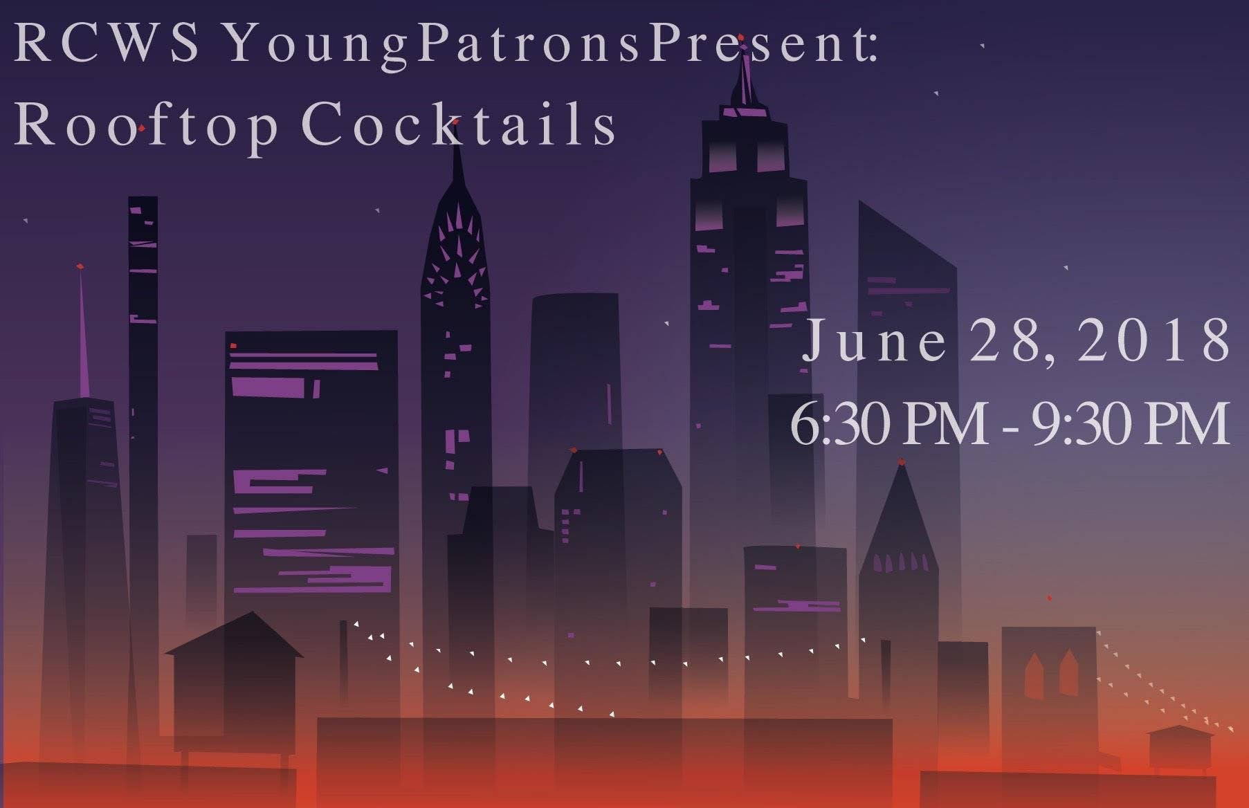 RCWS Young Patrons Russian Rooftop Cocktail Party