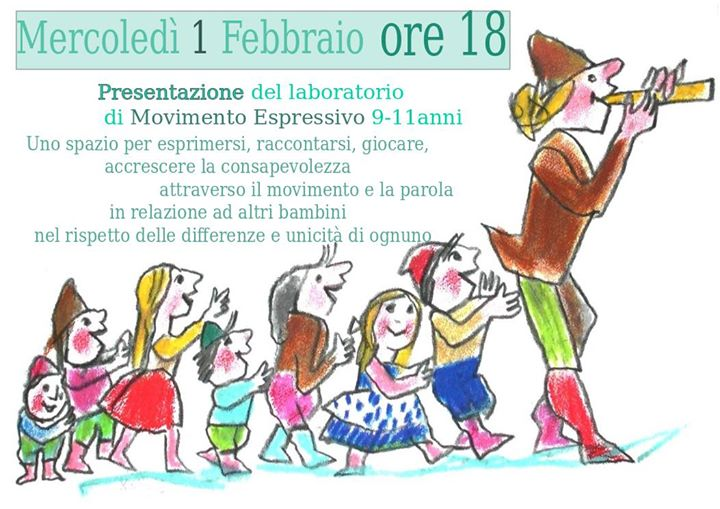 Presentazione del Laboratorio di Movimento Espressivo 9-11 anni