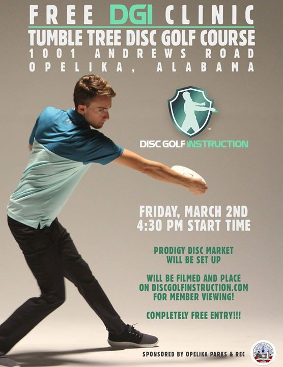 Free Disc Golf Instruction With Will Schusterick At 1001 Andrews Rd