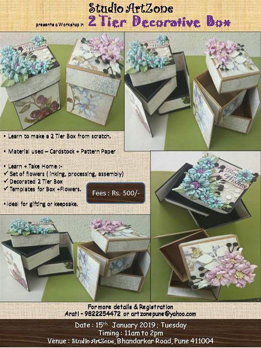 2Tier Decorative Box Making