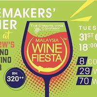 Malaysia Wine Fiesta - Winemakers Dinner