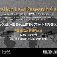 MLRC - A Talk with Dr. Jerome Cranston