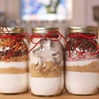 Cookie In A Jar Making &amp Recipe Swap