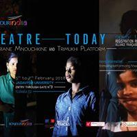 Theatre Today with Ariane Mnouchkine and Trimukhi Platform