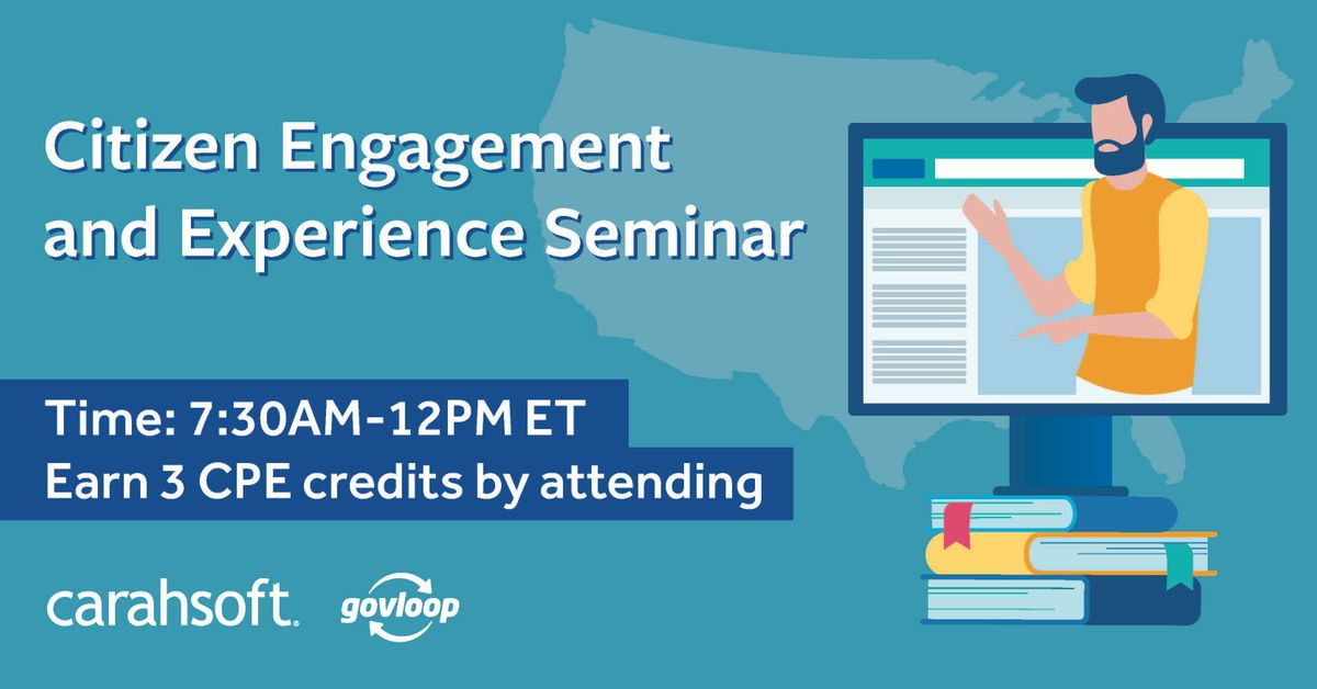 Citizen Engagement and Experience Seminar