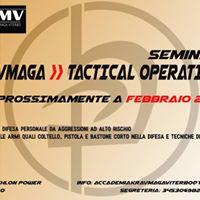 Seminario Kravmaga E Tactical Operations
