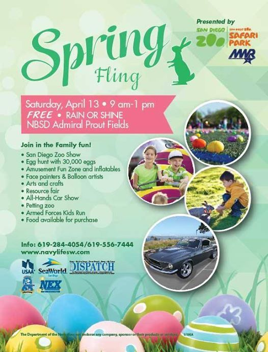 Nbsd Mwr Annual Spring Fling At Admiral Prout Field House Gym And
