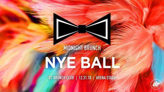 DCBC presents NYE 2018 Midnight Brunch Ball