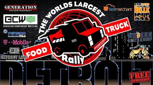 The Worlds Largest Food Truck Rally Belle Isle Detroit Mi At