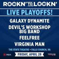PARTY BUS with Galaxy Dynamite for the Rockn To Lockn Playoffs