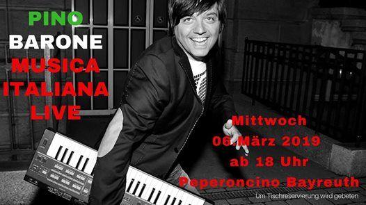Serata Piccante ital. Live Musik mit Pino Barone