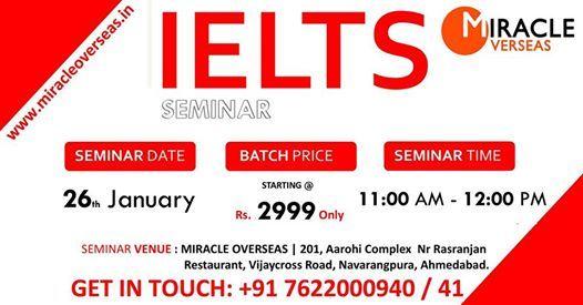 Free IELTS Seminar