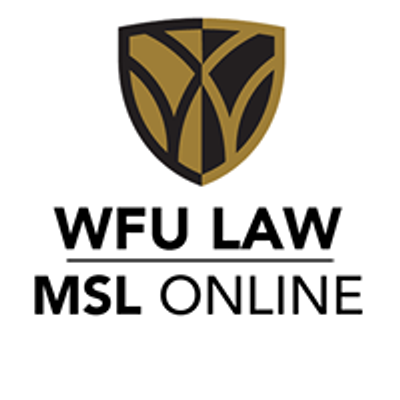 Wake Forest University School of Law Master of Studies in Law