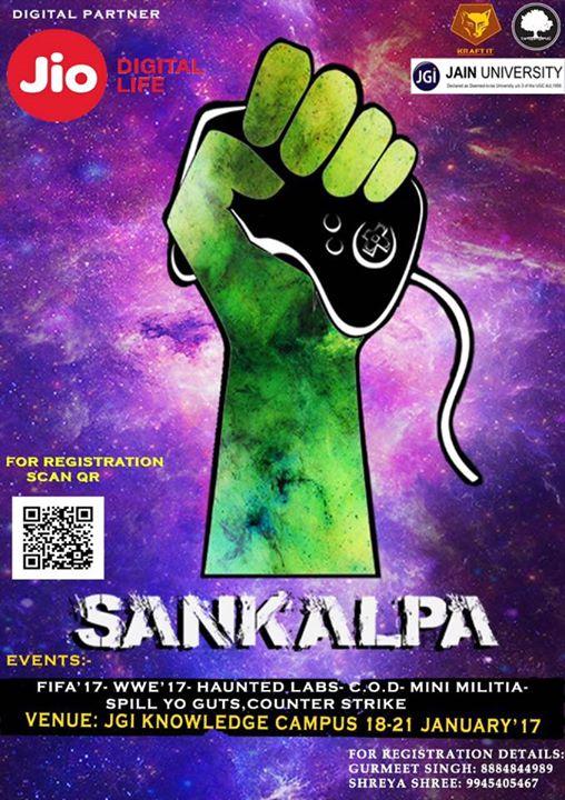 SANKALPA 17 - IT Fest JGI