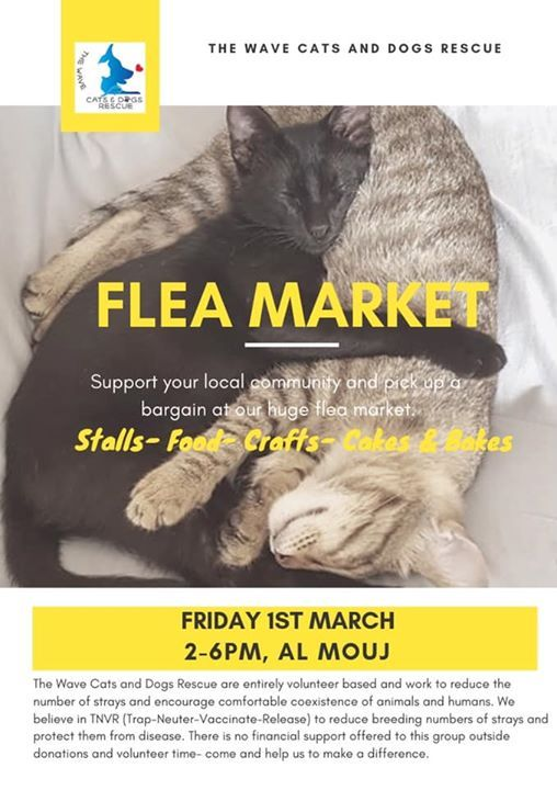 Flea market at Al MOUJ/THE WAVE | Muscat