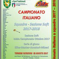 Iscrizione Campionato  Torneo Goliardico