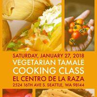 Vegetarian Tamales Cooking Class