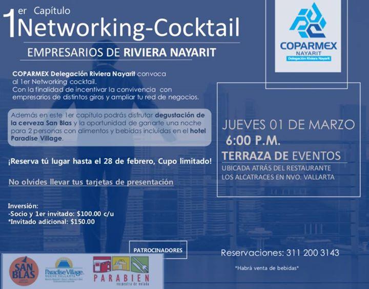 1er Evento Networking Cocktail At Terraza De Eventos
