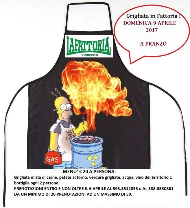 Grigliata In Fattoria At Fattoria Di Vigheffio Parma Provincia Di
