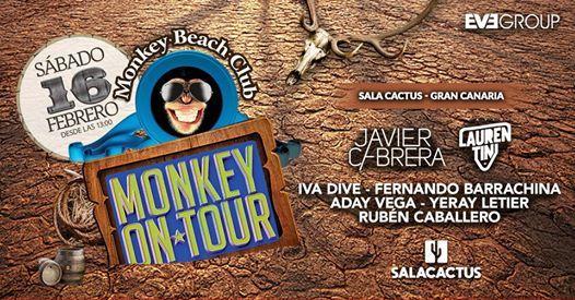 16 de Febrero - Monkey Beach On Tour Sala Cactus