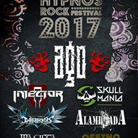 OSEZNO en el Hypnos Rock Festival 2017  AGO  Injector  Skull Mania...